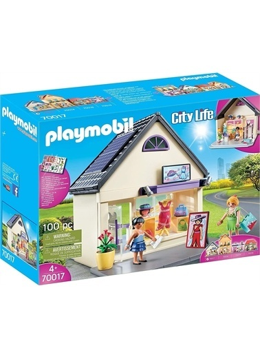 Playmobil Şlaymobil 70017 City Life Meine Trendboutique Renkli